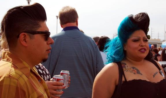 Rockabilly Hairstyles at VLV 13  viva las vegas 2010