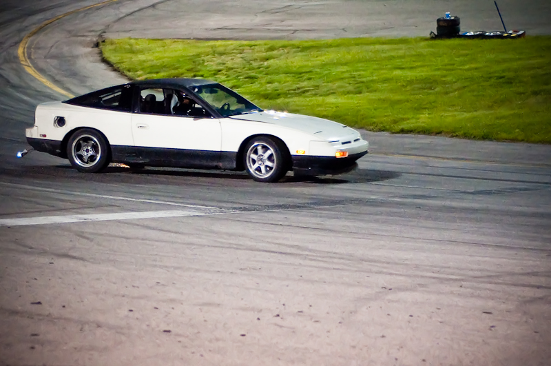 S13 hatchback, Midnight Drift at RMR, 240SX, drifting, Utah Drift, Drift Enterprise