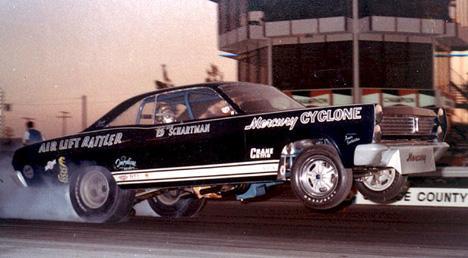 Fast Eddie Schartman's Mercury Comet funny car