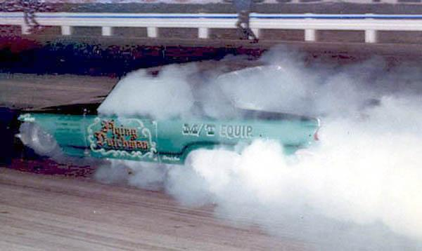 Flying Dutchman Dart Funny Car at Irwindale Dragstrip