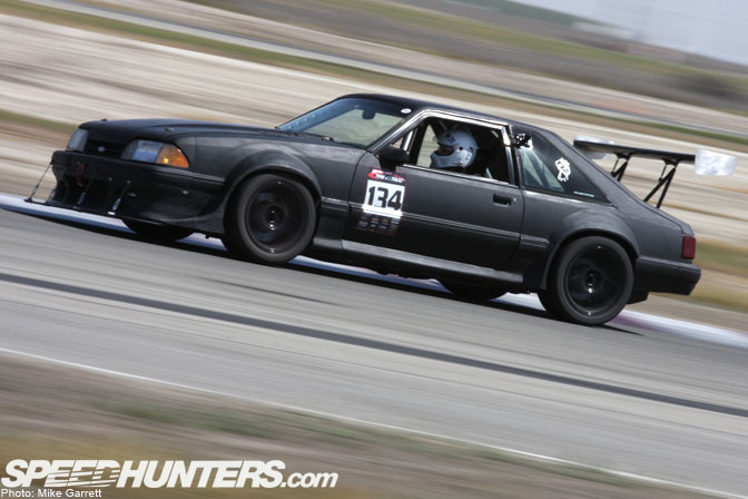 Fox Body Mustang, Time Attack, Speedhunters