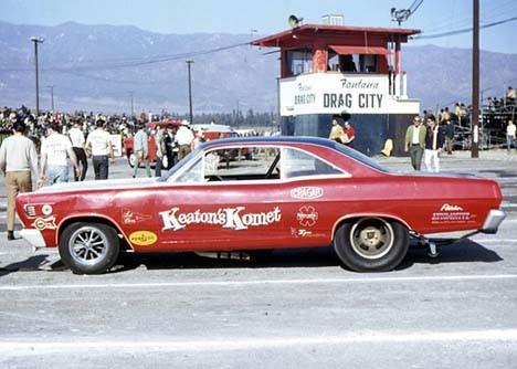 Keatons Komet at Fontana Drag City