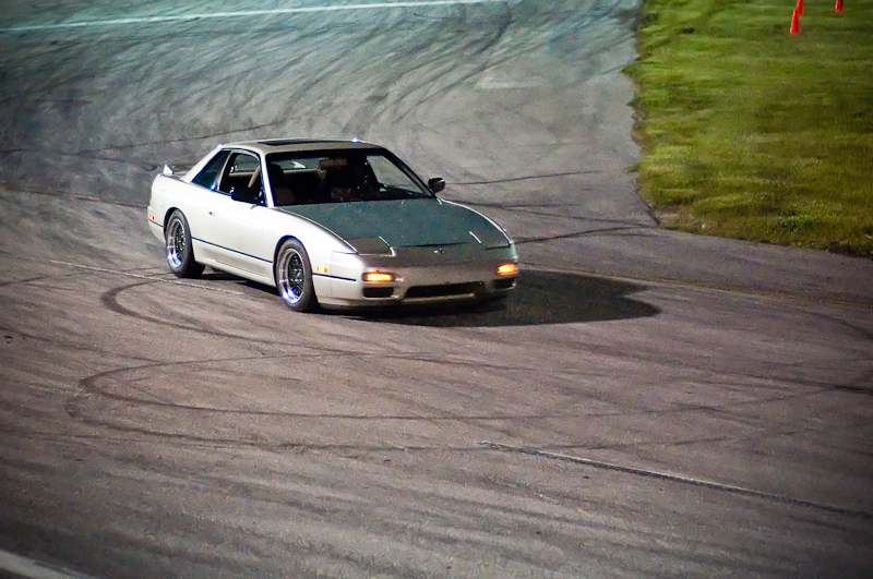 S13 coupe, drifting, Utah Drift, Drift Enterprise, RMR Raceway, Midnight Drift