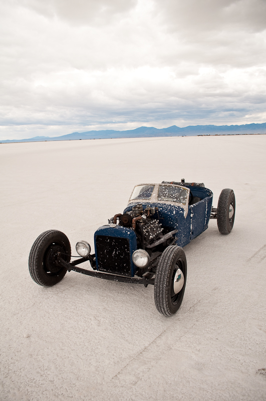 traditional hot rod, lakes modified roadster, Speed Week 2009