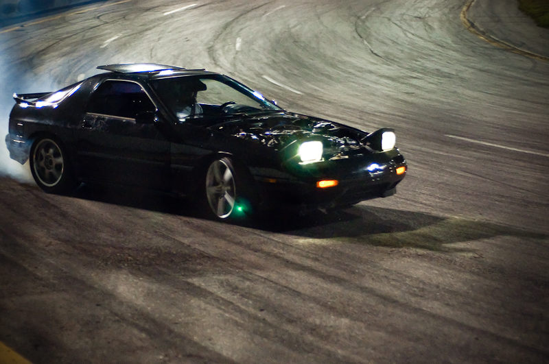 Small block Chevy, LS swap, FC RX-7, RMR's Midnight Drift