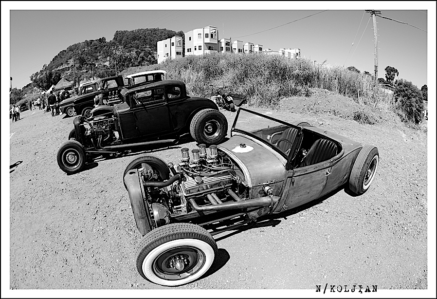 Hot Rod, swap meet, car show