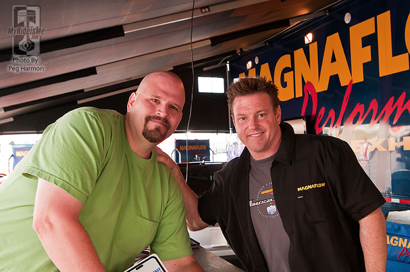Chip Foose and Bubba Harmon