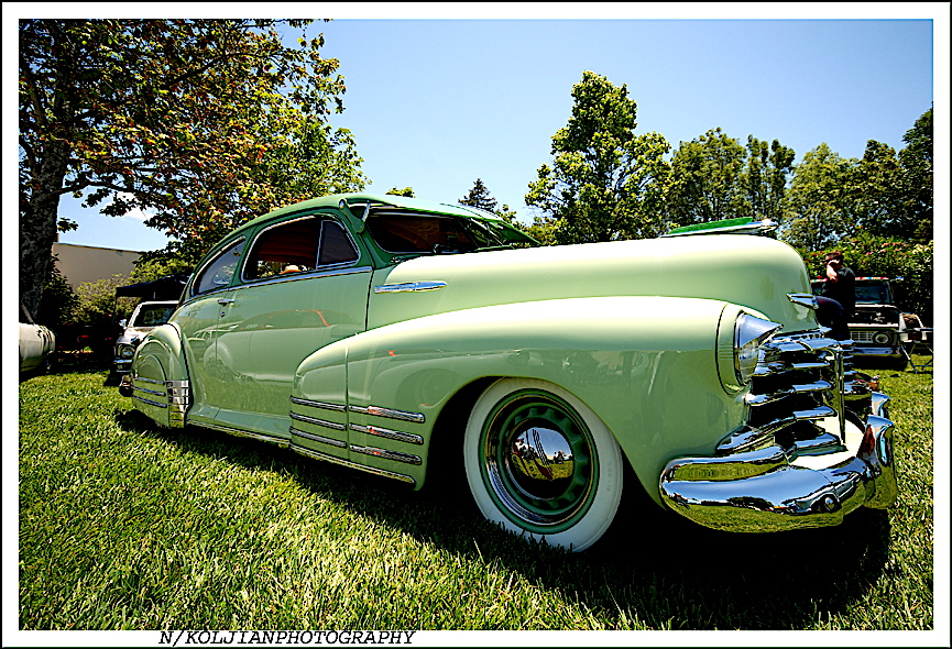 Road Zombies, Car Show, lead sled, classic sled