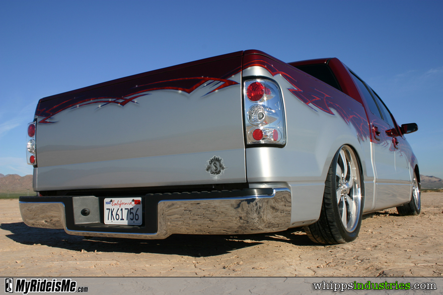 Shaved tailgate, Ford, F-150, Altezzas, Euro clears