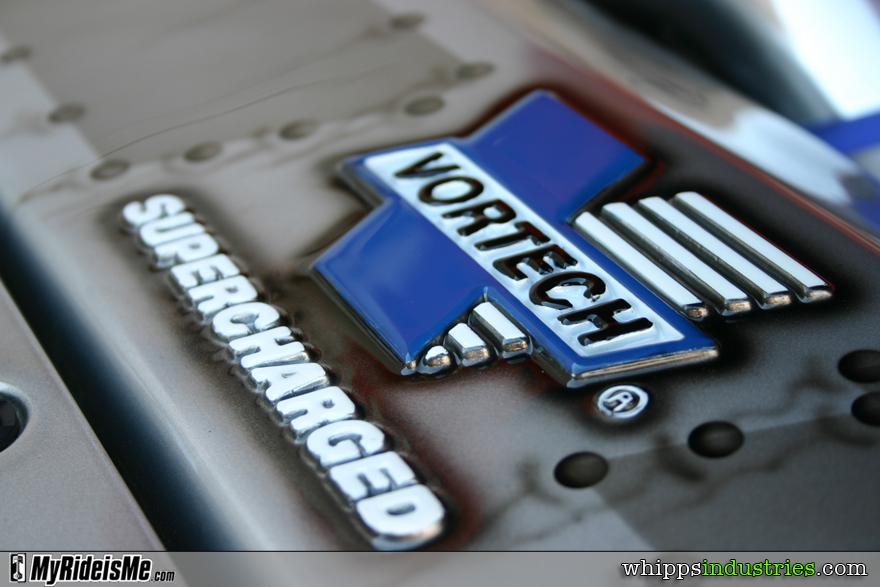 Vortech, supercharger, airbrushed rivets, 6.0l, V8
