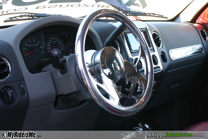 Colorado custom, billet steering wheel, trim, F150