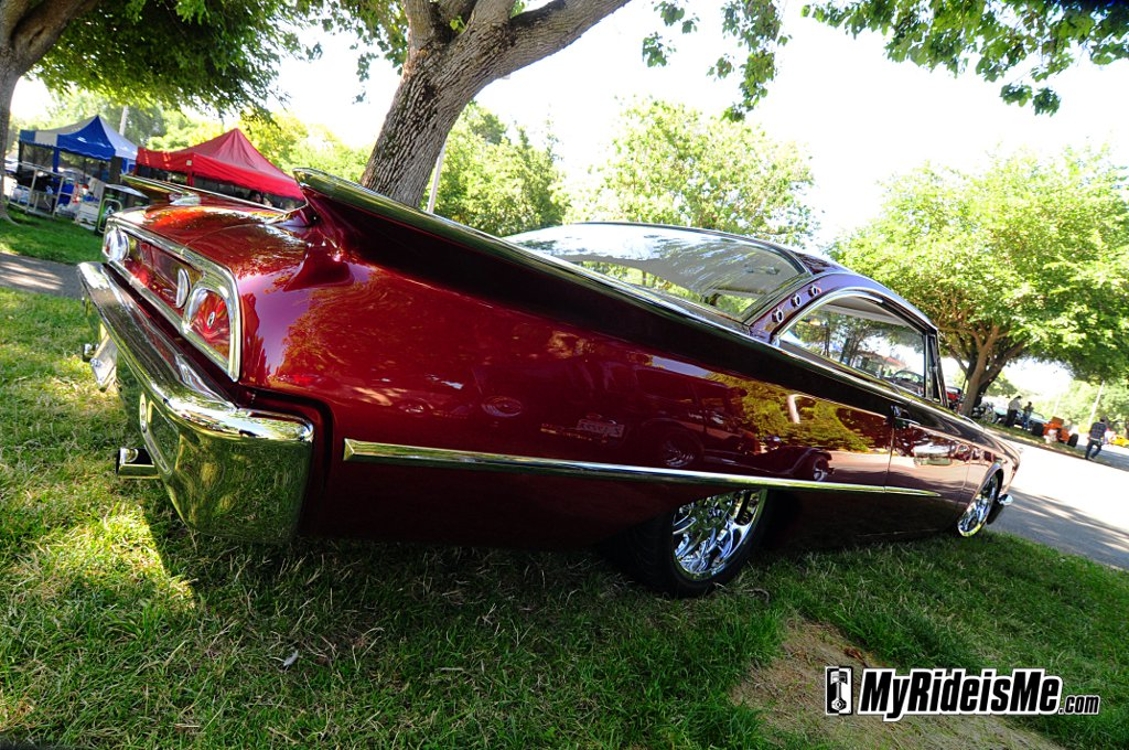 Customized 1960 Ford, galaxie, Starliner, hot rod, billet