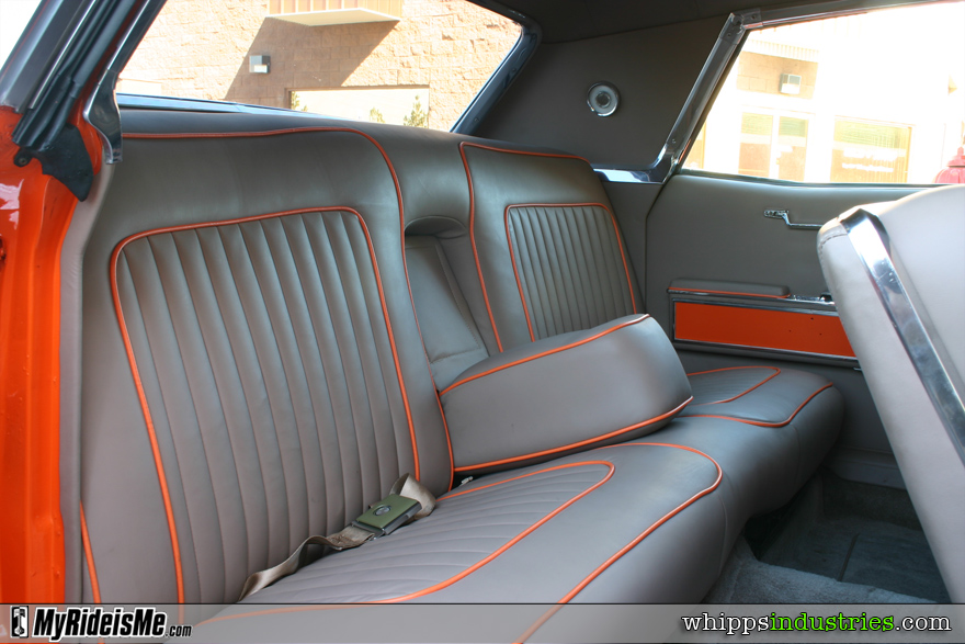 Ultraleather, piping, interior, chrome