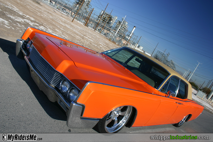 James Bean\'s Bagged 1966 Lincoln Continental | MyRideisMe.com