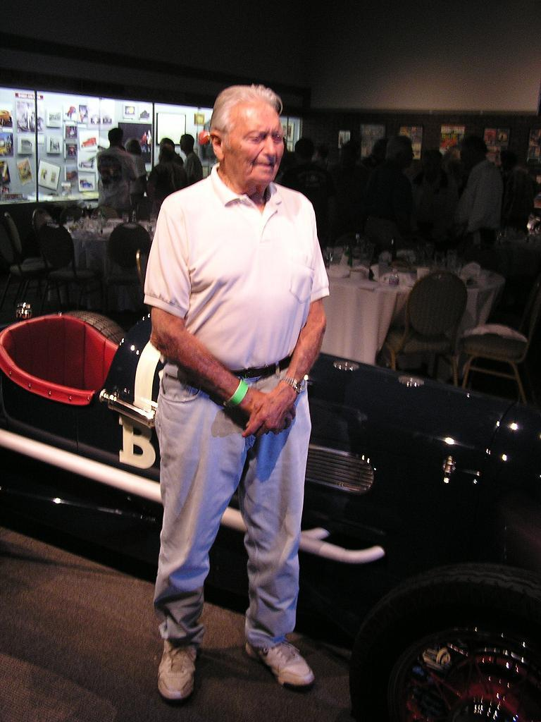 Phil Remington, NHRA Museum, 1941 Lakester, Stromber Carburetor
