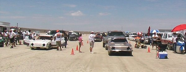 Studebaker Avanti, El Mirage, land speed racing, hot rodding,