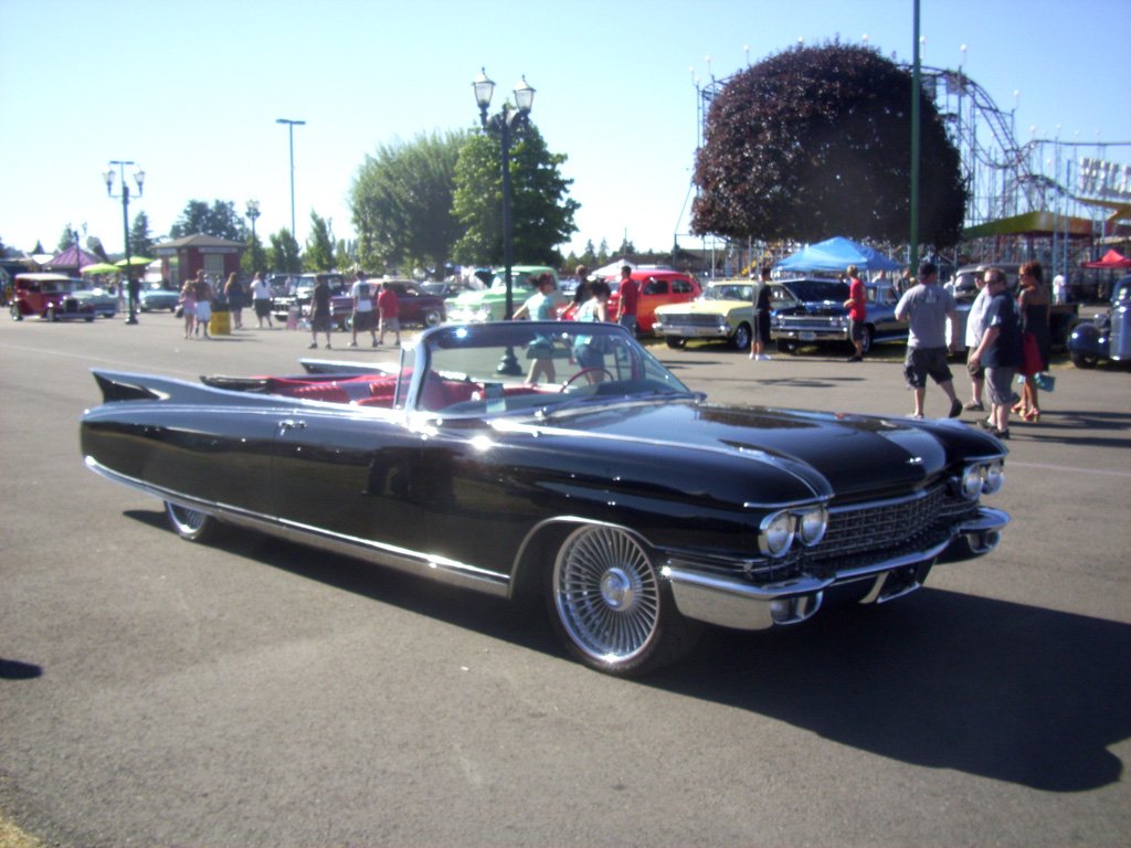 1960,Cadillac,convertible,custom,lowered,J.F. Launier,Goodguys Nationals, Puyallup