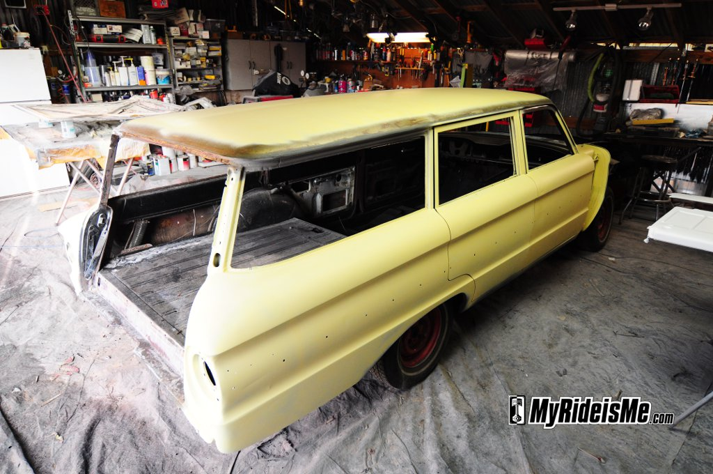 Ford Falcon Wagon Custom Paint