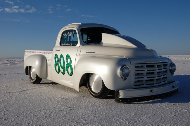 1949 Studebaker Truck, land speed racing record holder, bonneville salt flats, 898, norris anderson