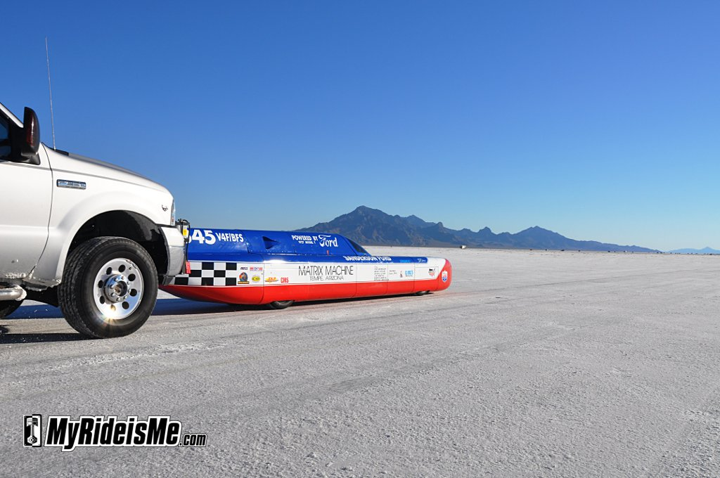 2010 Bonneville Salt Flats, Streamliner,Race car
