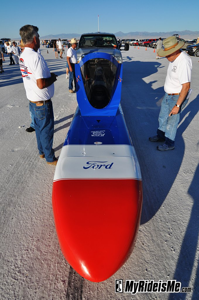 2010 Bonneville Salt Flats, Streamliner, land speed racing