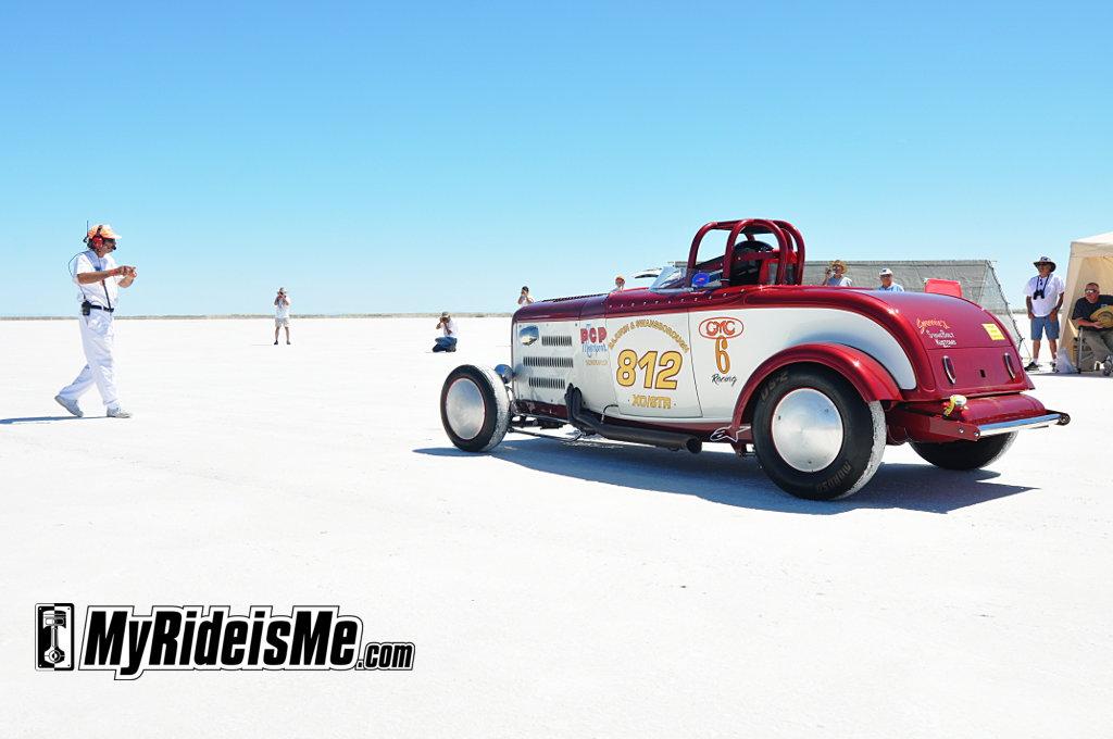 Speed Week 2010, Bonneville Salt Flats, roadster