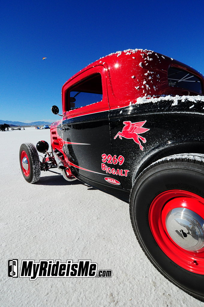 Hot rods,Speed Week 2010, Bonneville Salt Flats, Set a record