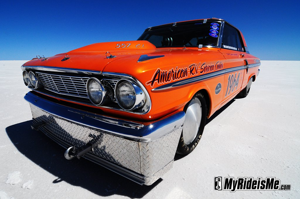 Bonneville Speed Week 2010, 1964 Ford Fairlane, Bonneville hot rod, racing