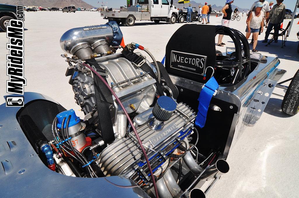 Speed Week 2010, Bonneville Salt Flats, four cylinder