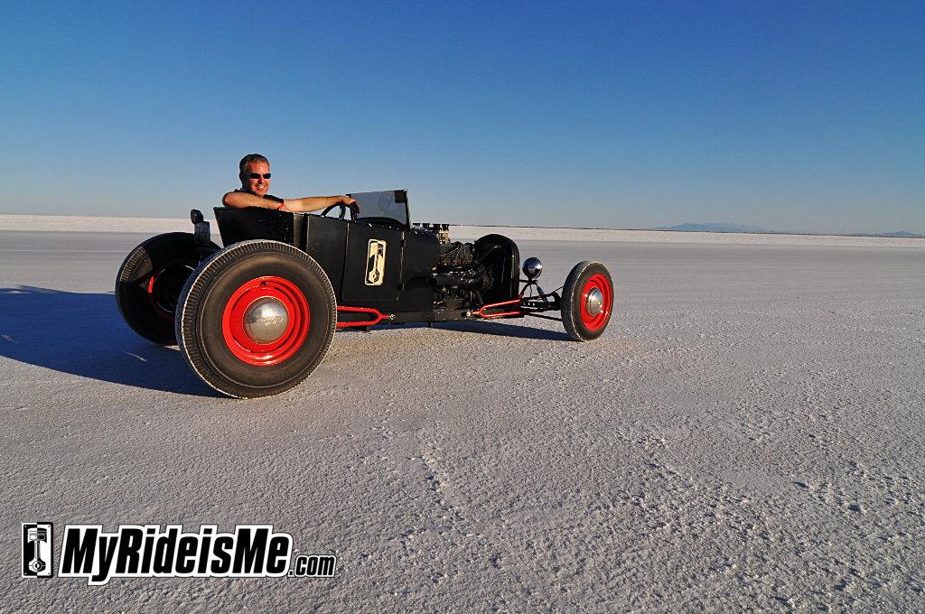 Speed Week 2010, Bonneville Salt Flats, hot rod