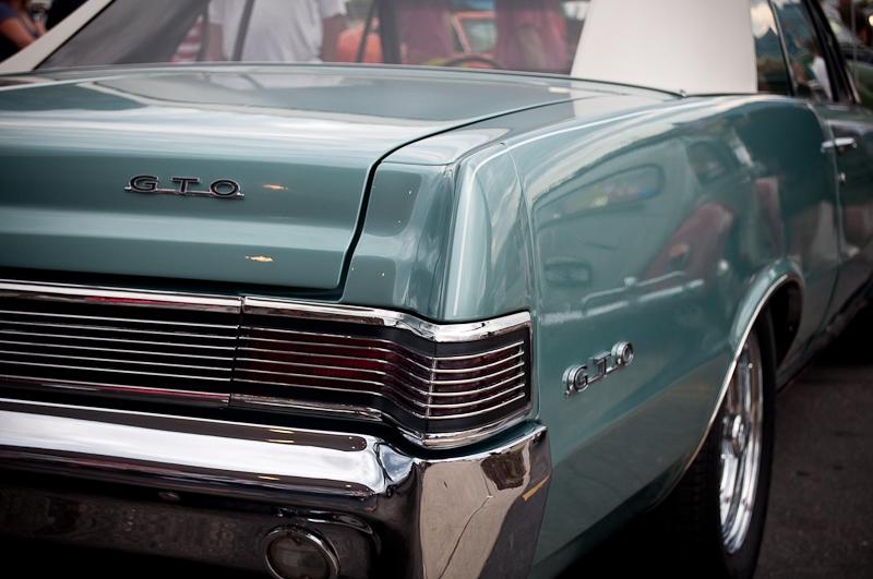 Burger Stop car show, GTO convertible, muscle car, hot rods