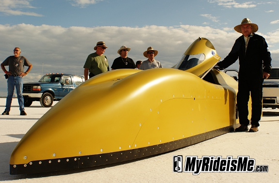 Bonneville Salt Flats - Speed Week Pictures