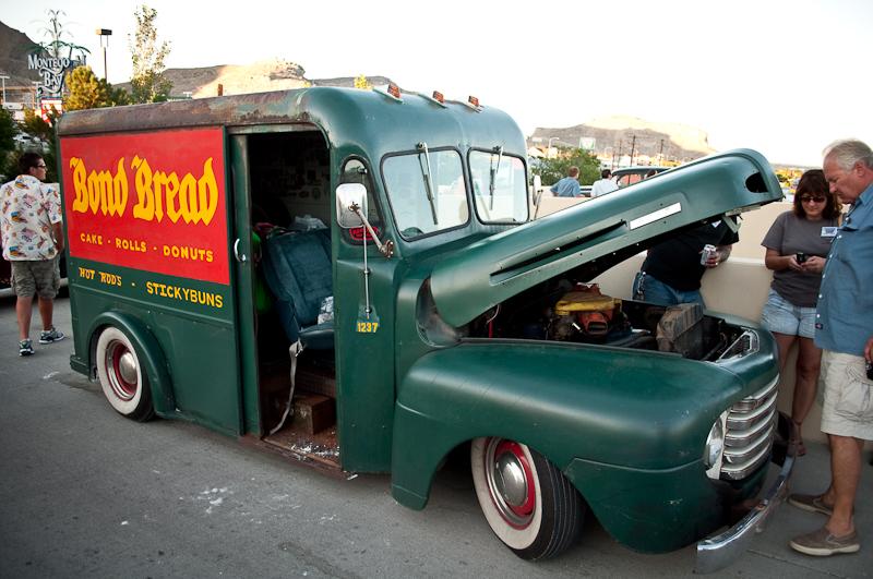 Bonneville Speed Week 2010,  Bread Truck hot rod, Nugget Casino, Cruise In