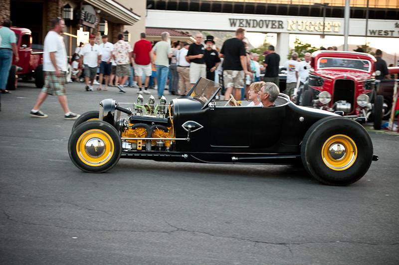 Speed Week 2010, Nugget Car Show, Bonneville Salt Flats, Model A Roadster