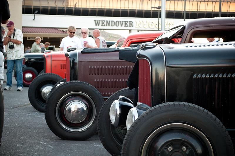 Bonneville Speed Week 2010, Rolling Bones Hot Rod Shop, Nugget, Cruise In