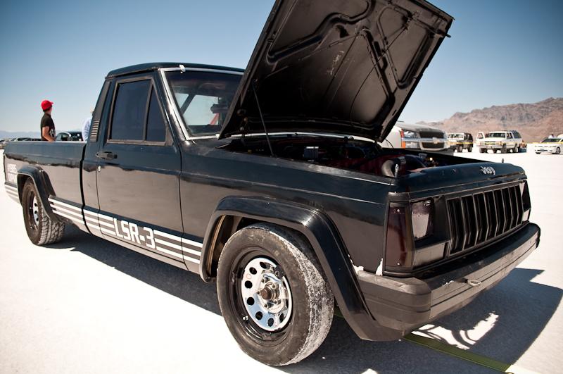 Speed Week 2010, Jeep Commanche, Bonneville race truck