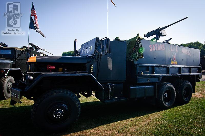 Carlisle Truck Nationals Vietnam Gun Truck