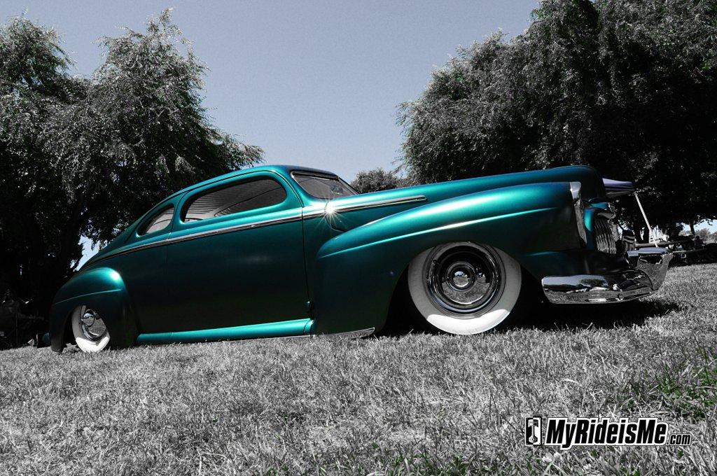 """Kool Kustom """"Grym"""" 1948 Mercury Coupe"""