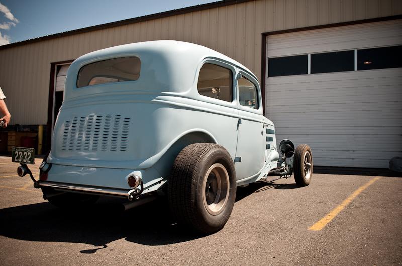 1933 Ford, hot rod, stance, Salt Flats Speed Shop