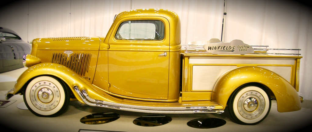 Custom Truck, Ford Pickup, Winfield, motorama