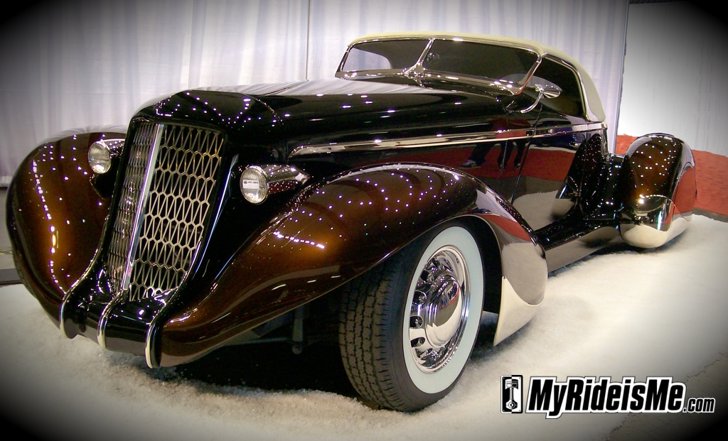 1936 Auburn Roadster, custom cars, car show