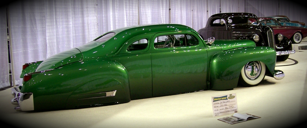 1946 Ford, custom car, motorama