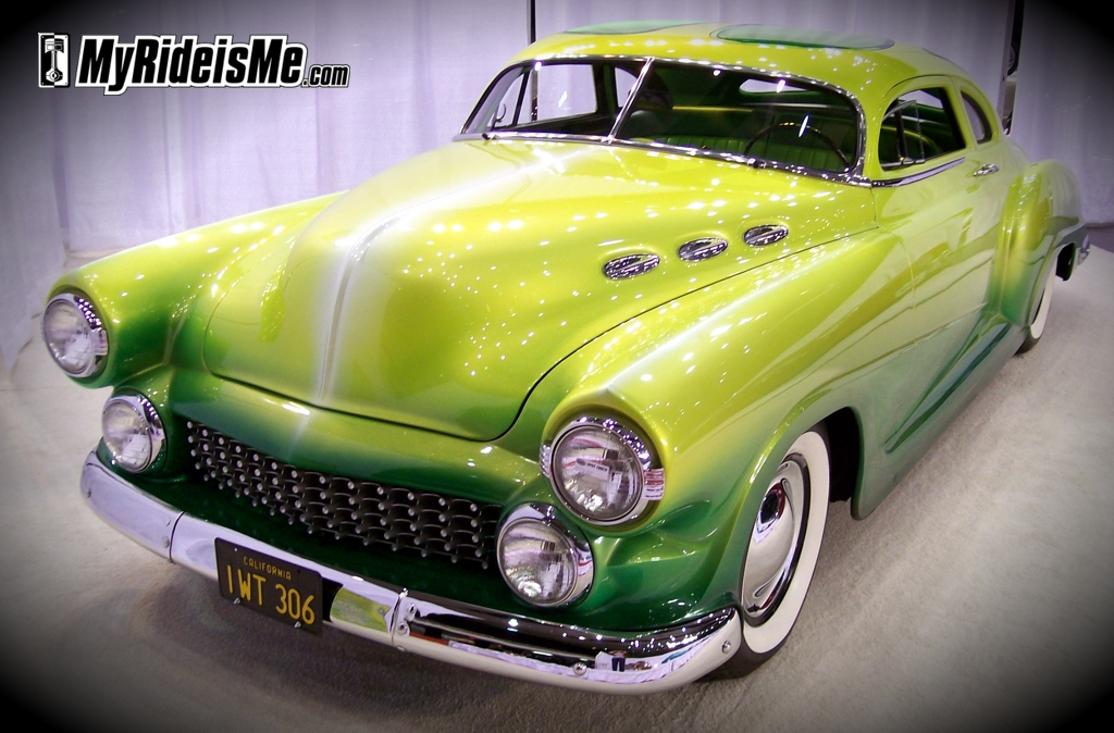 custom cars, 1950 Chevy Coupe, car show
