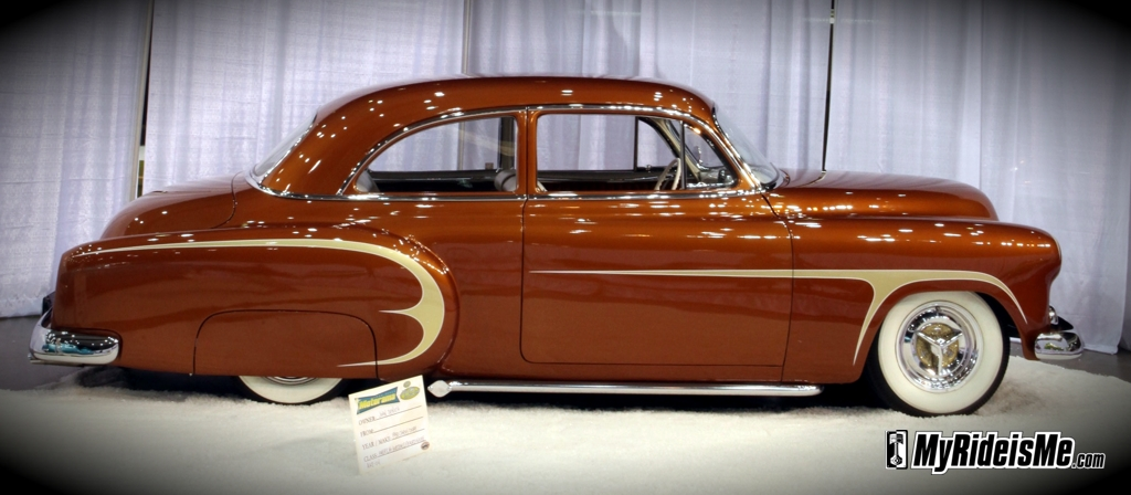 custom cars, 1951 Chevy Coupe, motorama