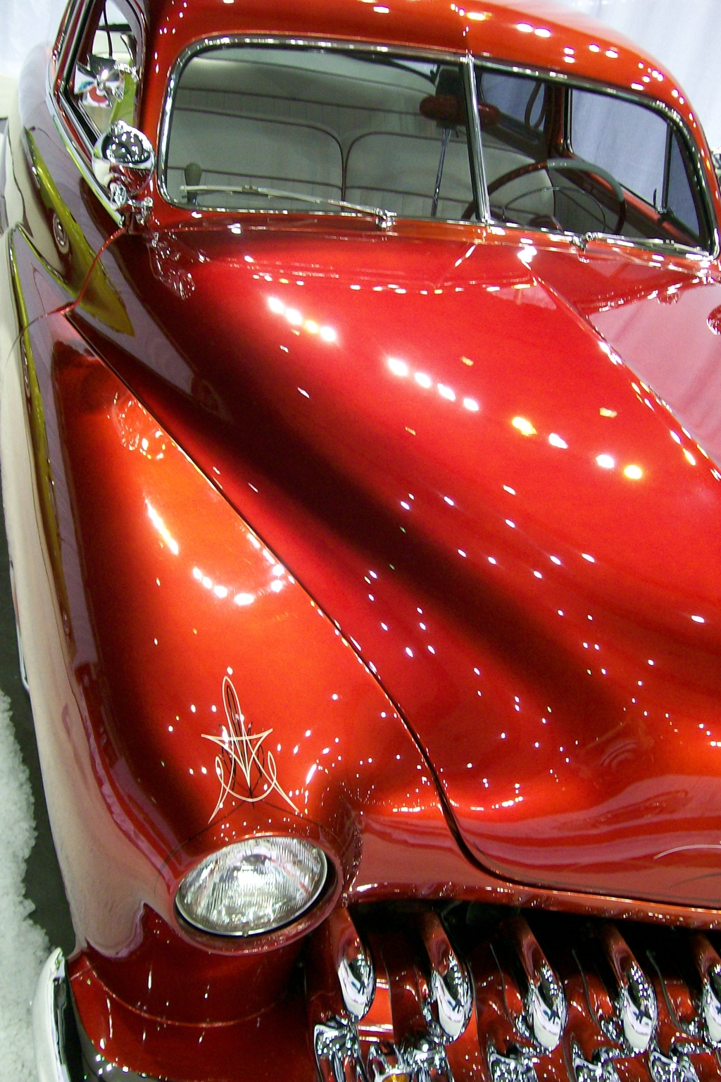 custom cars, 1951 Mercury, motorama, car show