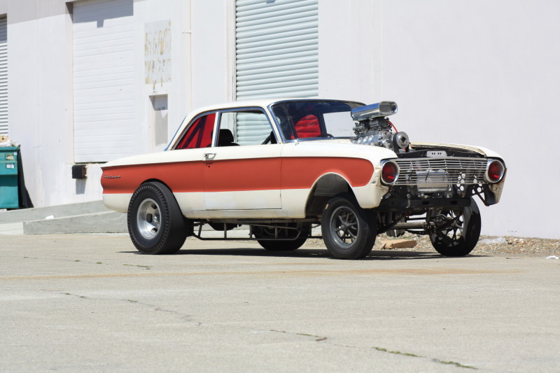 Ford falcon, straight axle Gasser, 401 Nailhead, hot rod