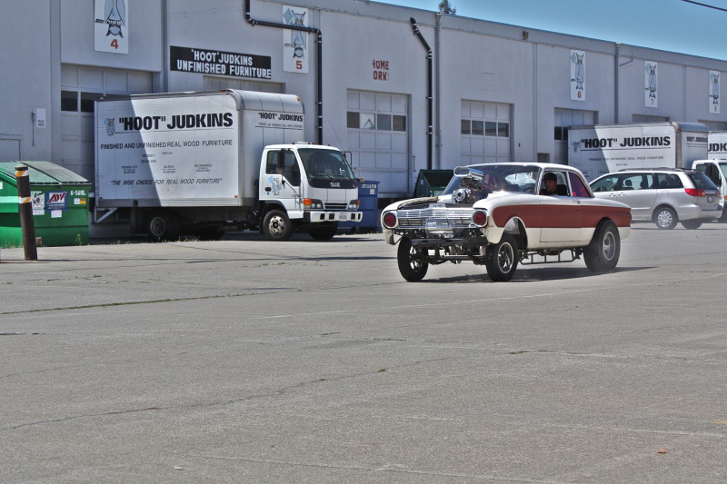 Ford, Falcon Gasser, drag launch, hot rod