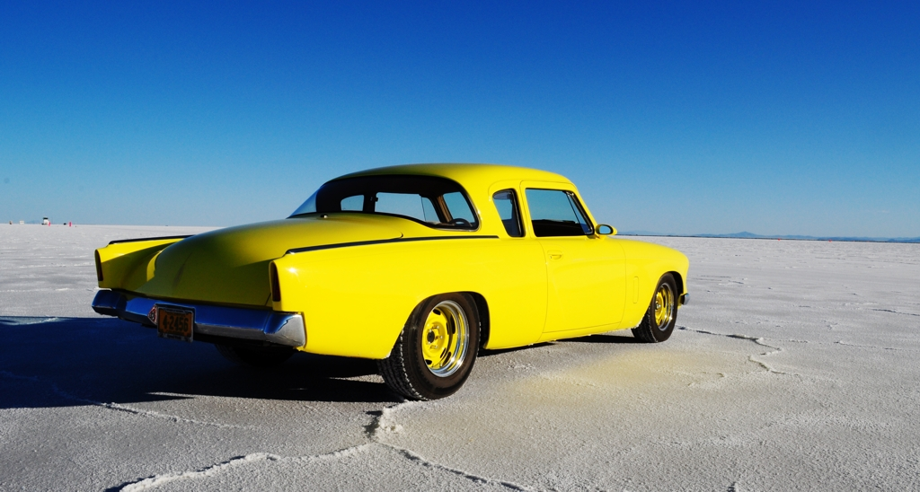 Studebaker Coupe, Hot Rod, bonneville salt flats