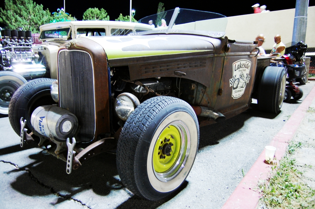 Studebaker Hot Rod Roadster, old car, wendover car show