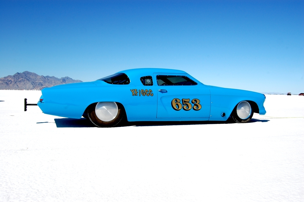 1953 Studebaker, bonneville salt flats, 2010 bonneville Speed Week